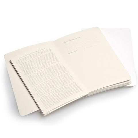 Набор 2 блокнота Moleskine Volant Pocket, цвет белый, в линейку