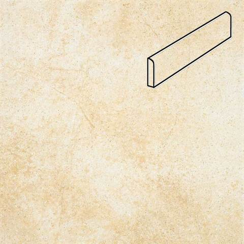 Stroeher - Keraplatte Roccia X 920 weizenschnee 294х73х8 артикул 8102 - Клинкерный цоколь
