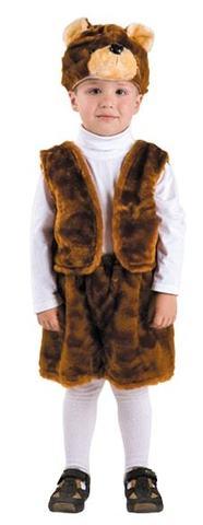 Детский карнавальный костюм Бурый Медведь