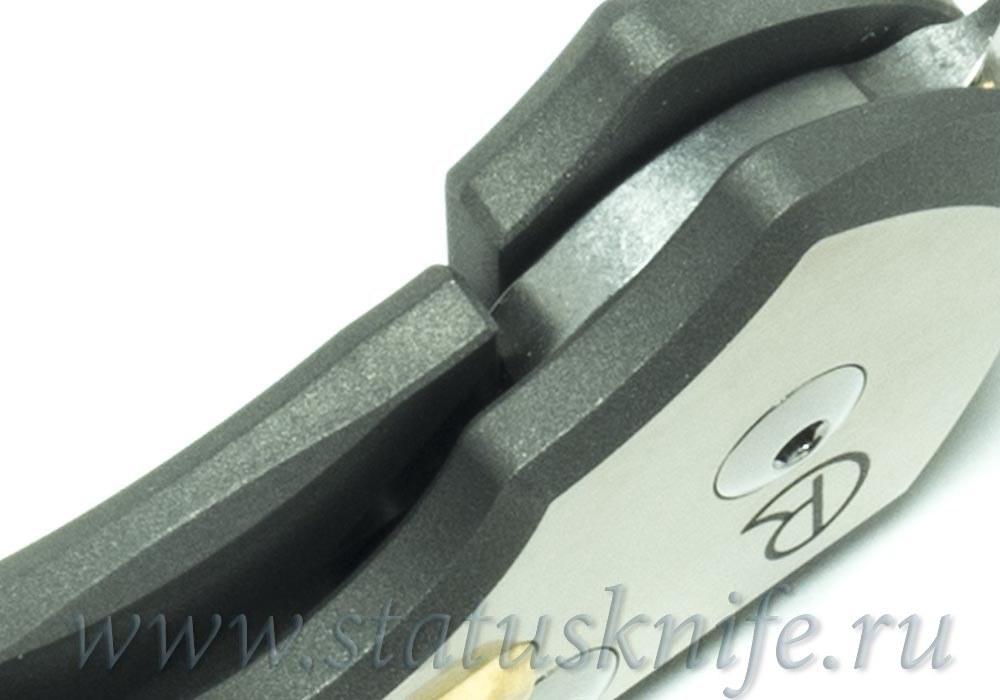 Нож Chris Reeve Knives Large Sebenza 21 Box Elder burl Inlay - фотография