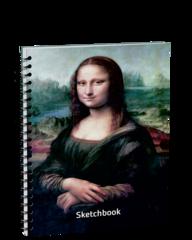 Скетчбук Да Винчи. Мона Лиза