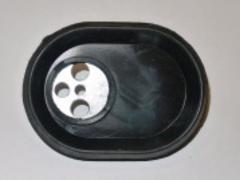 Фланец овальный с прокладкой для водонагревателя Ariston 65108275, 65103691