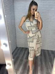 летнее платье с запахом купить