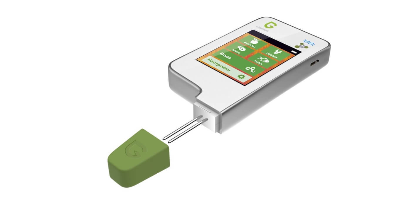 Greentest 3 - нитрат-тестер, измеритель жёсткости воды