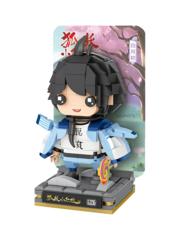 Конструктор LOZ mini Фигурка нендороид Байюэчу 349 деталей NO. 1322 Nendoroid Baiyuechu