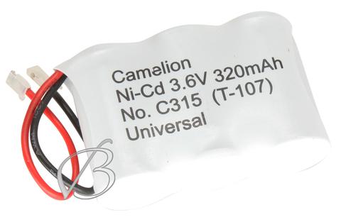 Аккумуляторы Camelion C315 (T-107, 320mAh )