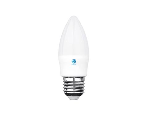 Светодиодная лампа LED C37-PR 8W E27 3000K (75W)