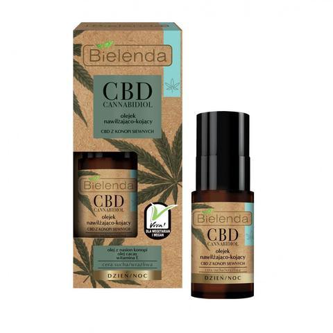 CBD Cannabidiol Увлажняющее и успокаивающее масло с CBD из семян конопли для сух/чувст.кожи 15мл