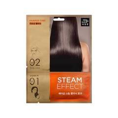Паровая маска для волос mise en scene Steam Hair Mask Pack Damage Care 15ml + 20ml