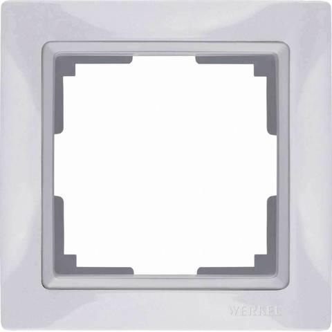 Werkel Рамка W0012001 (WL03-Frame-01) белый basic