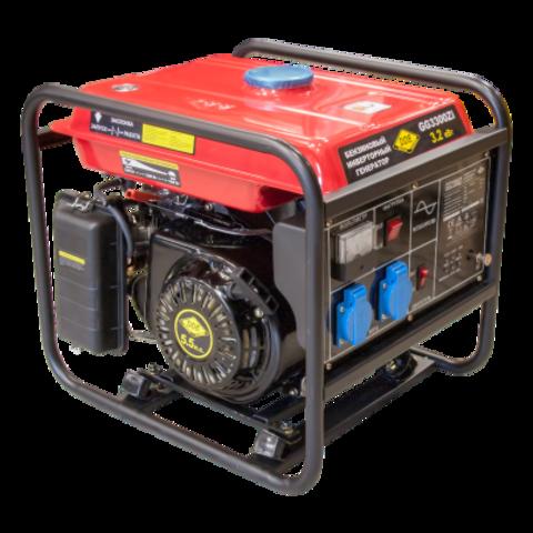 Генератор бензиновый инверторного типа DDE GG3300Zi (1ф 3,2 кВт, т/бак 9 л, ручн/ст, 35кг (GG3300Zi)