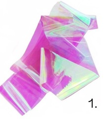 Битое стекло для дизайна ногтей №1