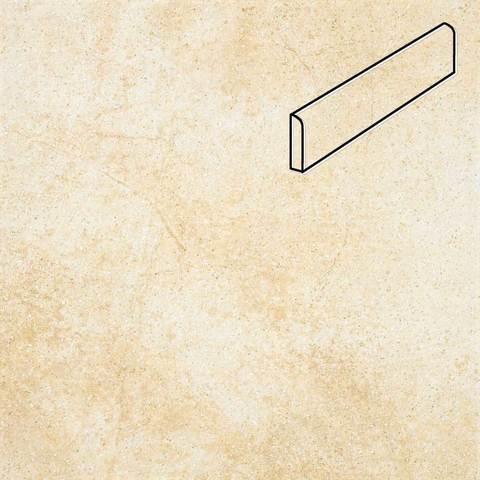 Stroeher - Keraplatte Roccia X 920 weizenschnee 294х73х8 артикул 8108 - Клинкерный плинтус