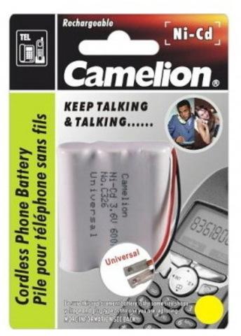 Аккумуляторы Camelion C326 (T-110, 600mAh )