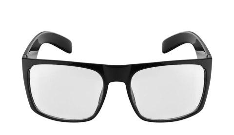 Очки антикомар, прозрачные, артикул ОП, вид фас. Входят в комплект