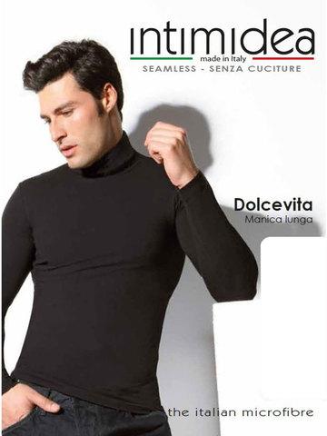 Мужская водолазка T-Shirt Dolcevita Manica Lunga Intimidea