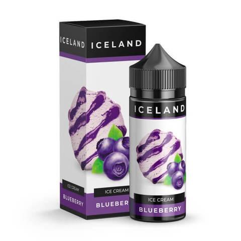 Жидкость Iceland 120 мл Blueberry