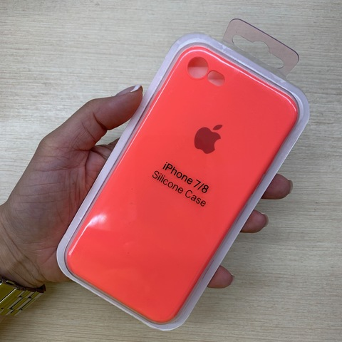 Чехол iPhone 6S Silicone Slim Case /coral/
