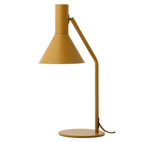 Лампа настольная Lyss, миндальная матовая