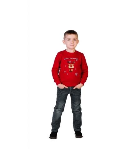 Новогодняя толстовка для мальчика