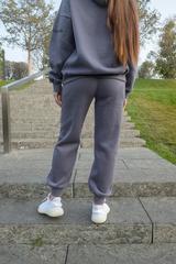 Серые теплые спортивные штаны недорого