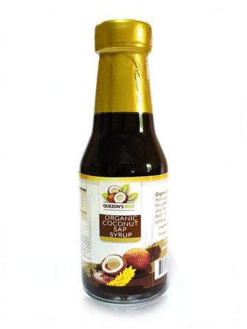 QUEZON'S BEST, Органический кокосовый сироп, 150мл