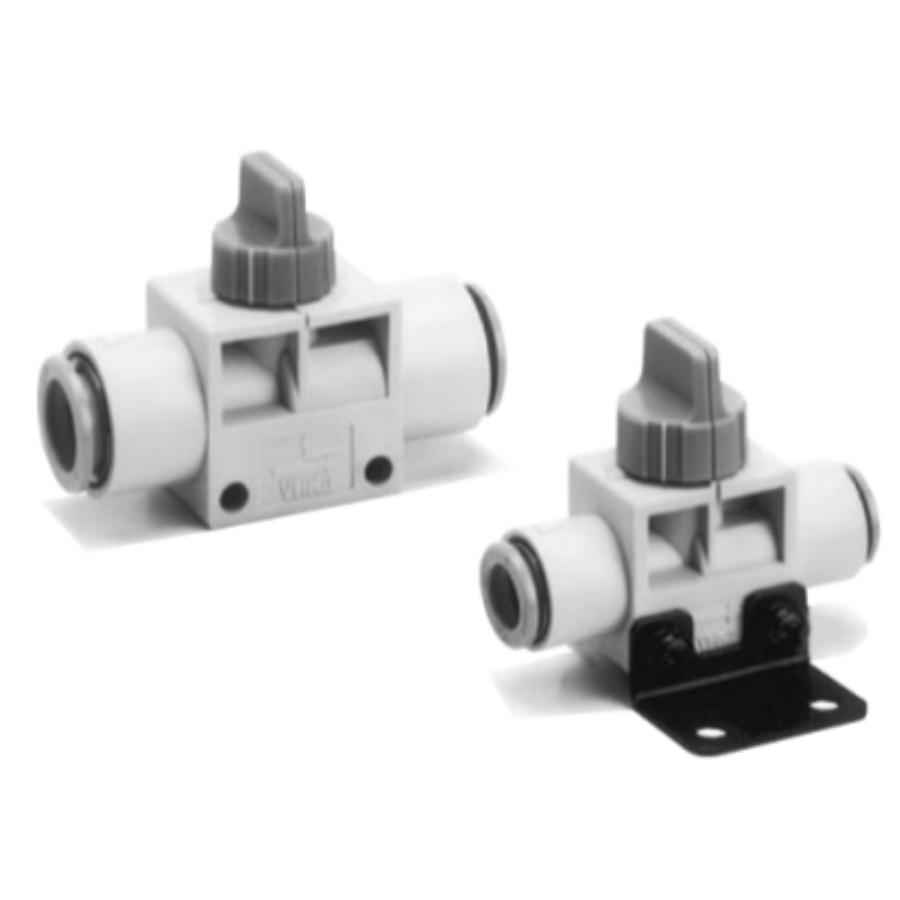 VHK2-06F-06F  2/2-Ручной пневмораспределитель