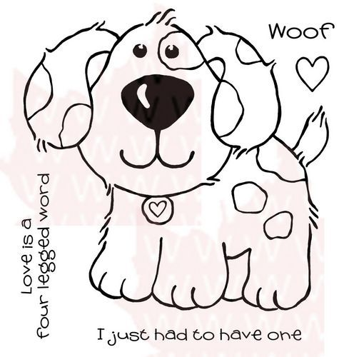 Набор штампов- Собака