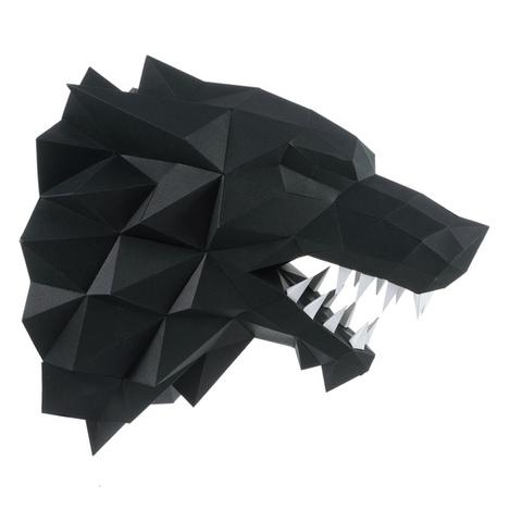Лютоволк черный