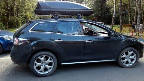 Автобокс Way-box 520 литров на крышу Mazda CX-9