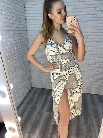 летнее платье с запахом nadya