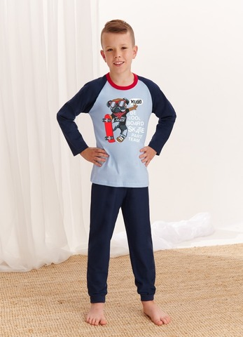 Пижама для мальчиков со штанами TARO (765/767 S20/21 GAWEL)