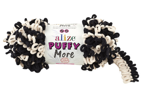 Пряжа Alize Puffy More цвет 6270