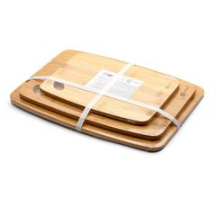 Набор разделочных досок бамбуковых, 3 шт. Apollo Disco