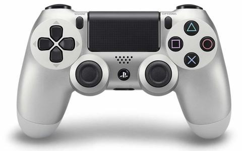 Геймпад Sony Dualshock 4 v2  (Серебристый) (PS4)