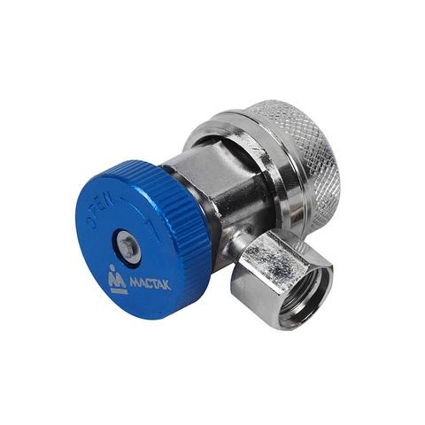 МАСТАК (105-40013) Муфта быстросъемная с вентилем, низкого давления, фреон R134a