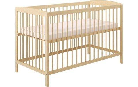 Кроватка детская Polini kids Simple 101, натуральный