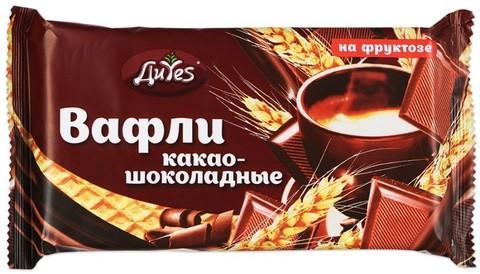 Вафли ДиYes какао-шоколадные на фрукт 90г