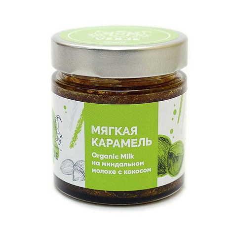Карамель «Premium organic milk» на миндальном молоке с кокосом (Ve)