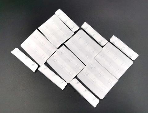 Застежка, ОПТ,  3х2, белый 5,5см, (Арт: Z3-001), 50 шт