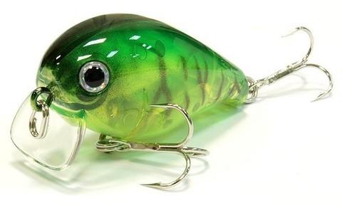 Воблер Lucky Craft Clutch SSR 884 Lime Chart Tiger 911