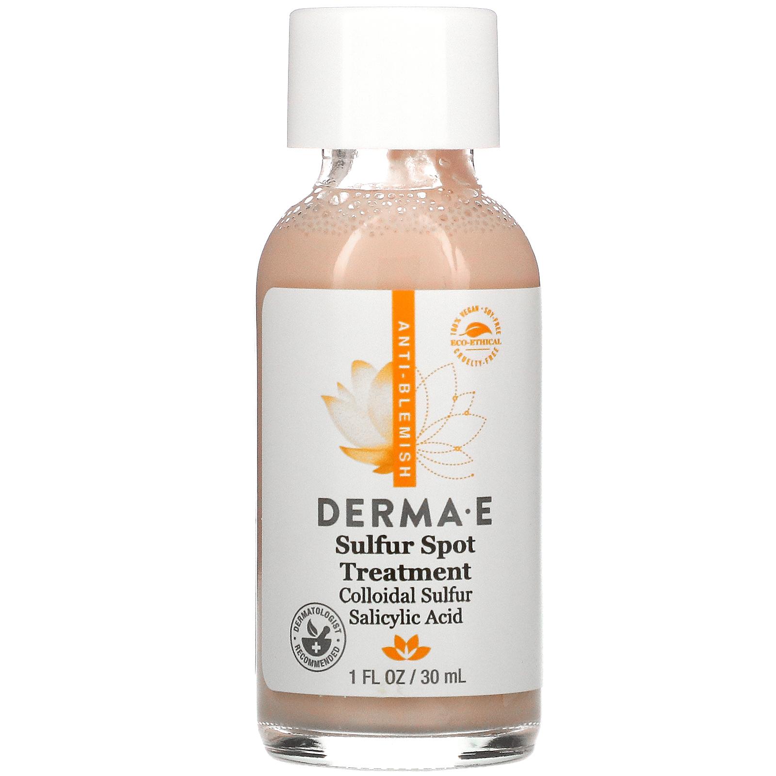 Болтушка Derma E Sulfur Spot Treatment 30 мл