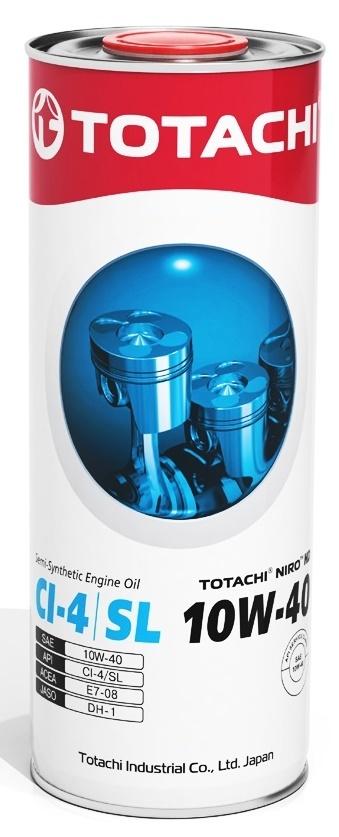 NIRO HD SEMI-SYNTHETIC 10W-40 TOTACHI масло моторное полусинтетическое (1 Литр)