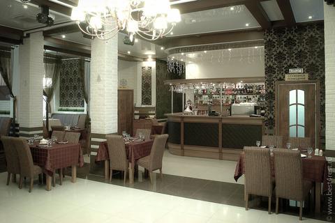 Барная стойка для ресторана в центре отдыха