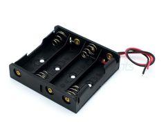 Отсек для батареек 4хАА без штекера