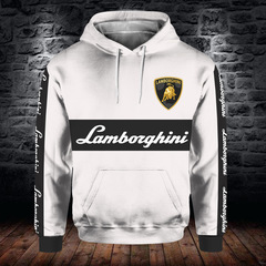 Толстовка утепленная 3D принт, Ламборджини (3Д Теплые Худи Lamborghini)