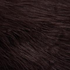 Шкура овечья искусственная, коричневая, 55*90 см