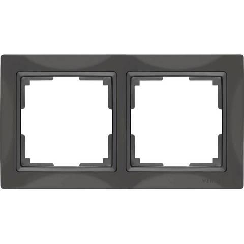Werkel Рамка W0022007 (WL03-Frame-02) серо-коричневый basic
