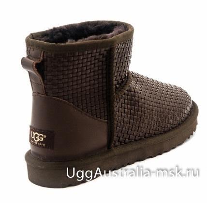 UGG Woven Brown