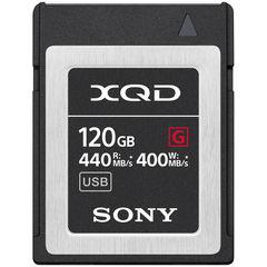Карта памяти Sony XQD 120GB G серия 440/400 MB/s
